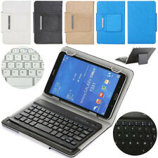 """Wireless Keyboard Leather Case Cover For 9.7""""-10.5"""" iPad Samsung Huawei Tablet"""