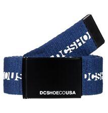 DC Shoes Chinook - Ceinture en tissu pour Homme taille unique bleu