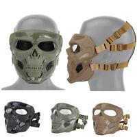 Skeleton Ghost Skulls Face Mask Biker Balaclava Costume Halloween Cosplay New