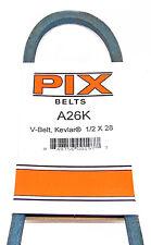"A26K Pix Kevlar Power Trim Edger V-Belt 4L280K (1/2"" X 28"")"