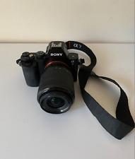 Sony Alpha A7 24.3 MP Mirrorless Digital Camera with 28-70mm Lens - Black