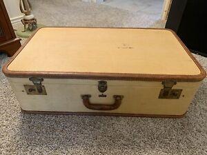 Retro decor Vintage Suitcase Retro Suitcase Old Luggage Home decor Cardboard Suitcase \u0422ravel Case Distressed Suitcase Brown Suitcase