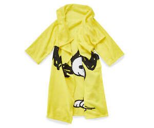 Peanuts Snoopy Comfy Throw The Blanket with Sleeves Yellow 48 x 48 Oversized