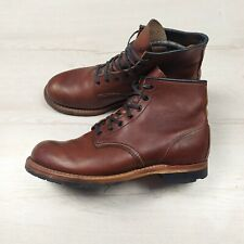 "MEN'S 9.5 D RED WING BOOTS 9016 6"" HERITAGE BECKMAN"