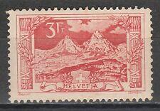SWITZERLAND 1914 PICTORIAL 3FR