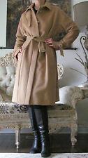 Rare MAX MARA Runway 100% Camel Hair Dress-y Coat/Jacket IT 46,US 12,GB 14,L-XL