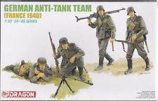 "1/35 WW2 Figures: German AT Team ""France 1940"" [Germany]  :DRAGON"