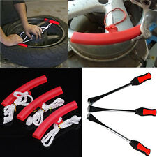 3PCS Motorcycle Tire Guard Rim Tyre Wheel Changing Rim Edge + lever tool spoon
