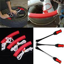 3PCS Motorcycle Tire Guard Rim Tyre Wheel Changing Rim Edge + lever tool spoon