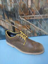 FootJoy Mens City Waterproof Golf Shoes - FJ PreOwn Leather Sport Brogue Classic