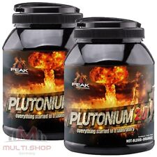 22x Peak Plutonium Pre Workout Booster Trainingsbooster Portionsbeutel 880g