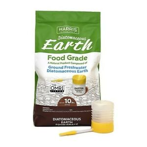 Harris Diatomaceous Earth Food Grade - 10 lbs (includes duster)