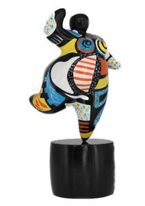 Dolly Figur medium -Hommage an Niki de Saint Phalle- Nana Molly dicke Frau 20627