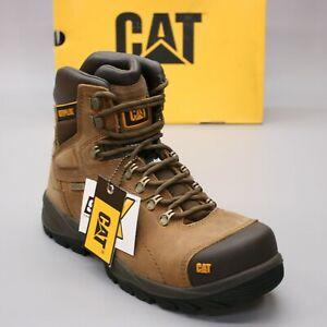 "Caterpillar Men's 10  Diagnostic Hi ST Steel Toe Waterproof 6"" CAT Work Boots"