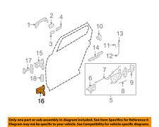 FORD OEM Lock -Rear Door-Lower Hinge 6F9Z7426810A