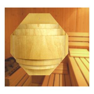 Sauna Lampe Lampenschirm Leuchte groß Lampenfassung Wandlampe Beleuchtung