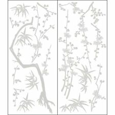 Large Bamboo Tree Branch Floral Garden Wall Sticker Wall Decal Mural Home Decor