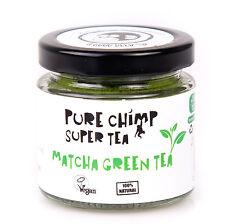Pure Chimp Matcha Green Tea Powder - 50g - Caffeinated Energy Drink High Grade