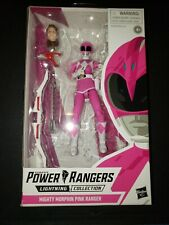 New listing Hasbro Power Rangers Lightning Collection Mighty Morphin Pink Ranger 6in Sy