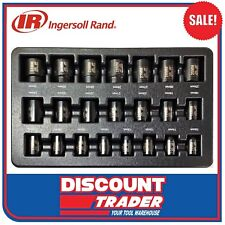 Ingersoll Rand 22Pc 1/2″ Drive 6 Point Metric Standard Impact Socket Set SK4M22A