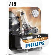 Philips Vision H8 Car Headlight Bulb 12360B1 (Single)