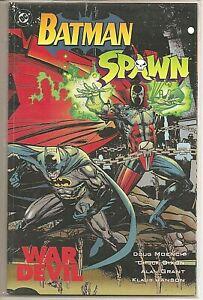 °BATMAN / SPAWN: WAR DEVIL ONE-SHOT° USA DC/Image crossover 1994 Prestige Format
