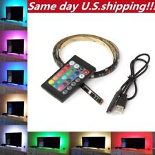 LED TV USB Backlight Kit Computer RGB LED Light Strip TV Background Lights 1M