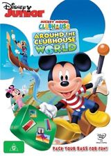 Mickey Mouse Clubhouse - Around The Clubhouse World (DVD, 2015)