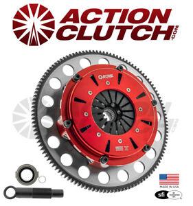 AC RACING TWIN DISC CLUTCH KIT FOR ACURA RSX TSX HONDA CIVIC SI K20 K24 K-SERIES