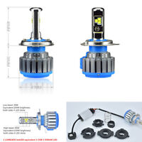 H6 BA20D HS1 H4 LED Motorcycle Headlight bulb 40W 4800LM for Yamaha Honda KTM