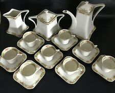 Rare French Antique Limoges Coffee Service by A. Lanternier 1910