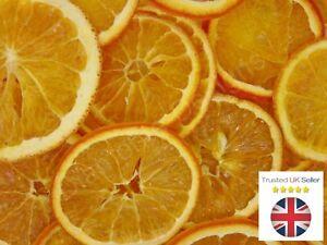 Scented ORANGE SLICES Dried Fruit - CHRISTMAS CRAFT WREATH FLORIST DECORATION UK