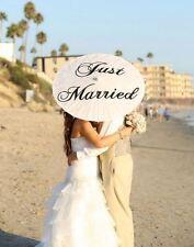 Wedding Parasol Umbrella Just Married Ceremony Decoration Sign Bridal Decor