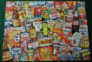 Mom's Pantry Flashbacks Master Pieces 1000 Piece Snacks Doritos Kool Aid