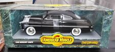 1:18 Ertl American Muscle Black 1949 Mercury Coupe Item 7122