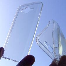 custodia in silicone cover trasparente per Samsung Galaxy J7 SM-J700 + pellicola
