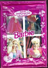 1996 Box 30 Valentines Ken & Barbie Gown Outdoors Cowgirls Hat Ballerina Mattel
