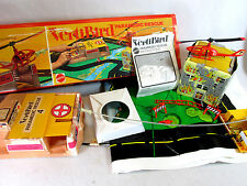 Vintage 1975 Mattel Vertibird Paramedic Rescue set 9040, (for parts)
