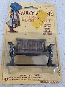 Holly Hobbie Die-Cast  Dollhouse Furniture Miniature 1976 no. 35 PORCH GLIDER