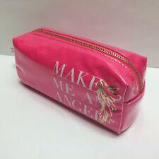 Victoria's Secret Makeup Bag Pencil Case Pouch Cosmetic Travel  Angel Hot Pink
