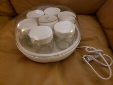 Euro Cuisine YM100 Automatic Yogurt Maker Machine - White
