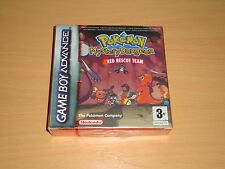 Pokemon Mystery Dungeon red Rescue Team for Nintendo Game Boy GBA F.