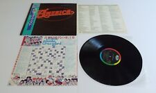 America In Concert Vinyl LP Japan Import + OBI Strip & Inserts - Near Mint