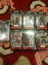 Black Widow Marvel Legends Wave 1 Set of 7 Figures (Crimson Dynamo BAF) 07