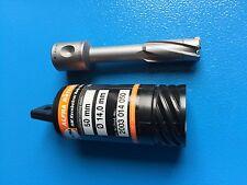 ALFRA 1 x HM Kernbohrer 14,0 mm Profondità di taglio 50mm con codolo Weldon