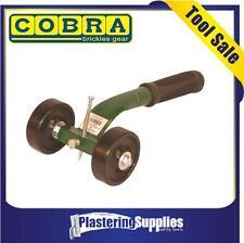 Cobra Roller Brick Raker, Brickies Masonry Tool Green