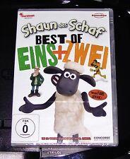 SHAUN DAS SCHAF BEST OF 1 + 2 DOPPEL DVD SCHNELLER VERSAND NEU & OVP