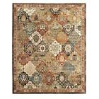 Area Rug Multi-Color Patchwork Medallion Bohemian Indoor Rectangle 5 x 7 ft.