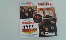 THE BEATLES  CAPITOL ALBUMS VOL 2 SAMPLER CD PROMO CARD BOX