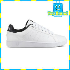 K-Swiss Mens Casual Court Casper s White Low Sneakers 05608109 Cheap Sneakers